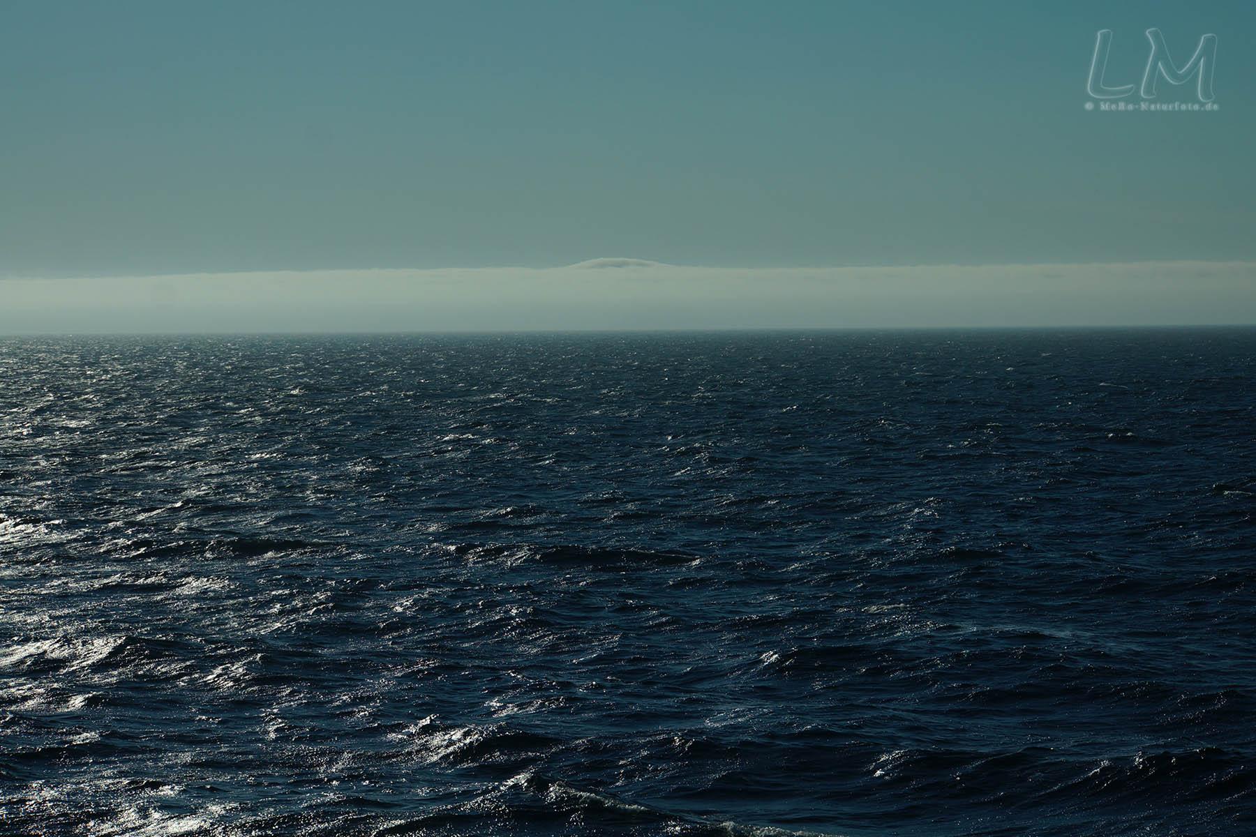 Seenebel, Anfahrt auf Röst