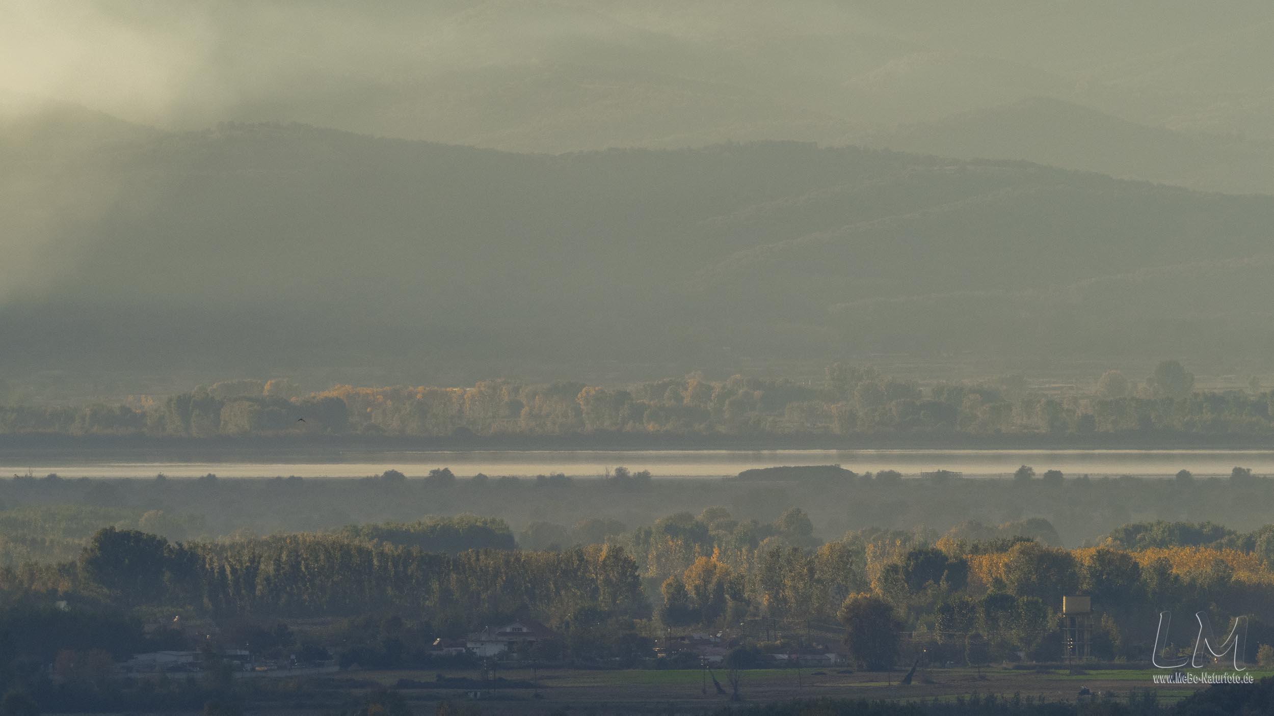 Kerkini-See 20 km von der Burg von Sidrokastro